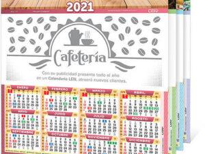 Calendario de Pared de Cartulina Mediano D