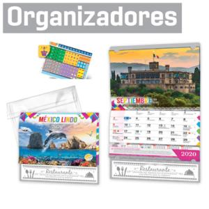 Calendarios Organizadores