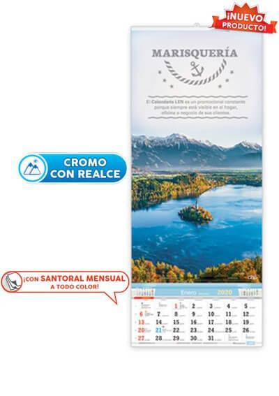 Calendario Santoral.Calendario De Pared De Varilla Especial Con Santoral Ve