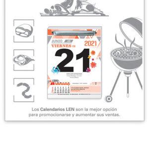Calendario LEN exfoliador RccE1